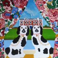 A Pair of Old Dogs by Anni Morris
