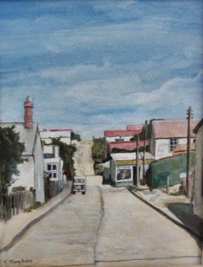 Street in Port Stanley