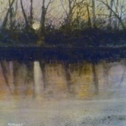 The Winter Riverbank