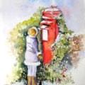 Leisure Painter Postbox by Julia Benning