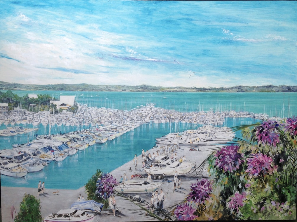 Bucklands Beach Marina, Half Moon Bay. 4ft6in / 3ft