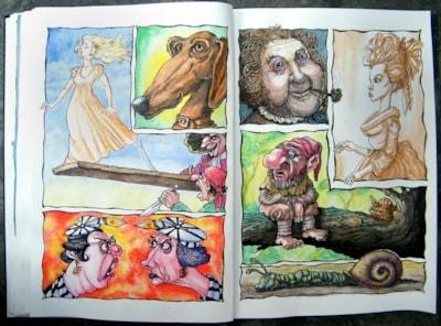A3 Sketchbook pics