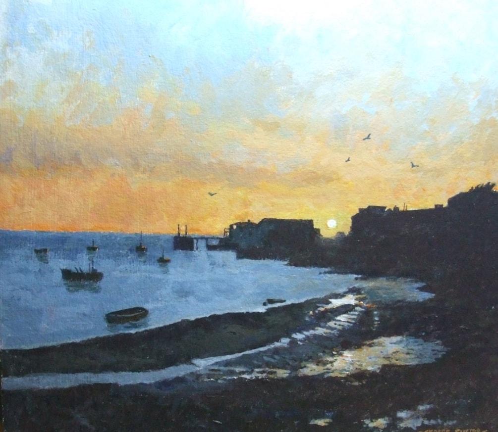 Aberdovey sunset 1