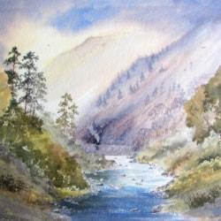 Afon Glaslyn, Beddgelert, Snowdonia