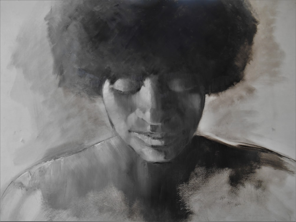 Afro Woman 2  66x53.5 (2)