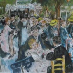 After Renoir Danse a la Moulin de la Gallette 003