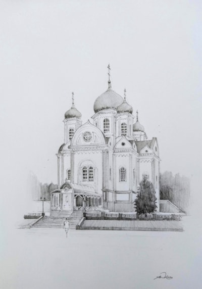 Alexander Nevsky Cathedral in Krasnodar