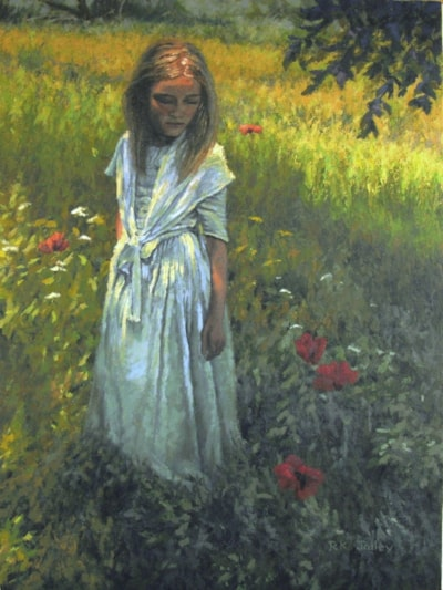 Along the Hill, 18 x 24, oil on canvas, 2021 2027x2703