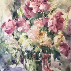 Angela bridal flowers
