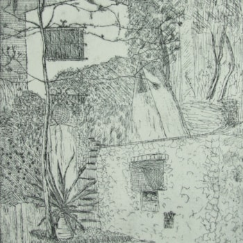 Barbacoa(The Barbecue)_Etching_07-2016