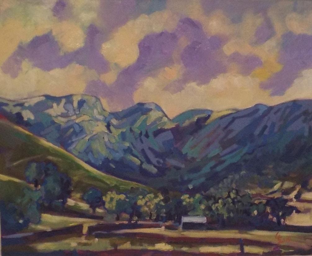 Base of Kirkwood Pass