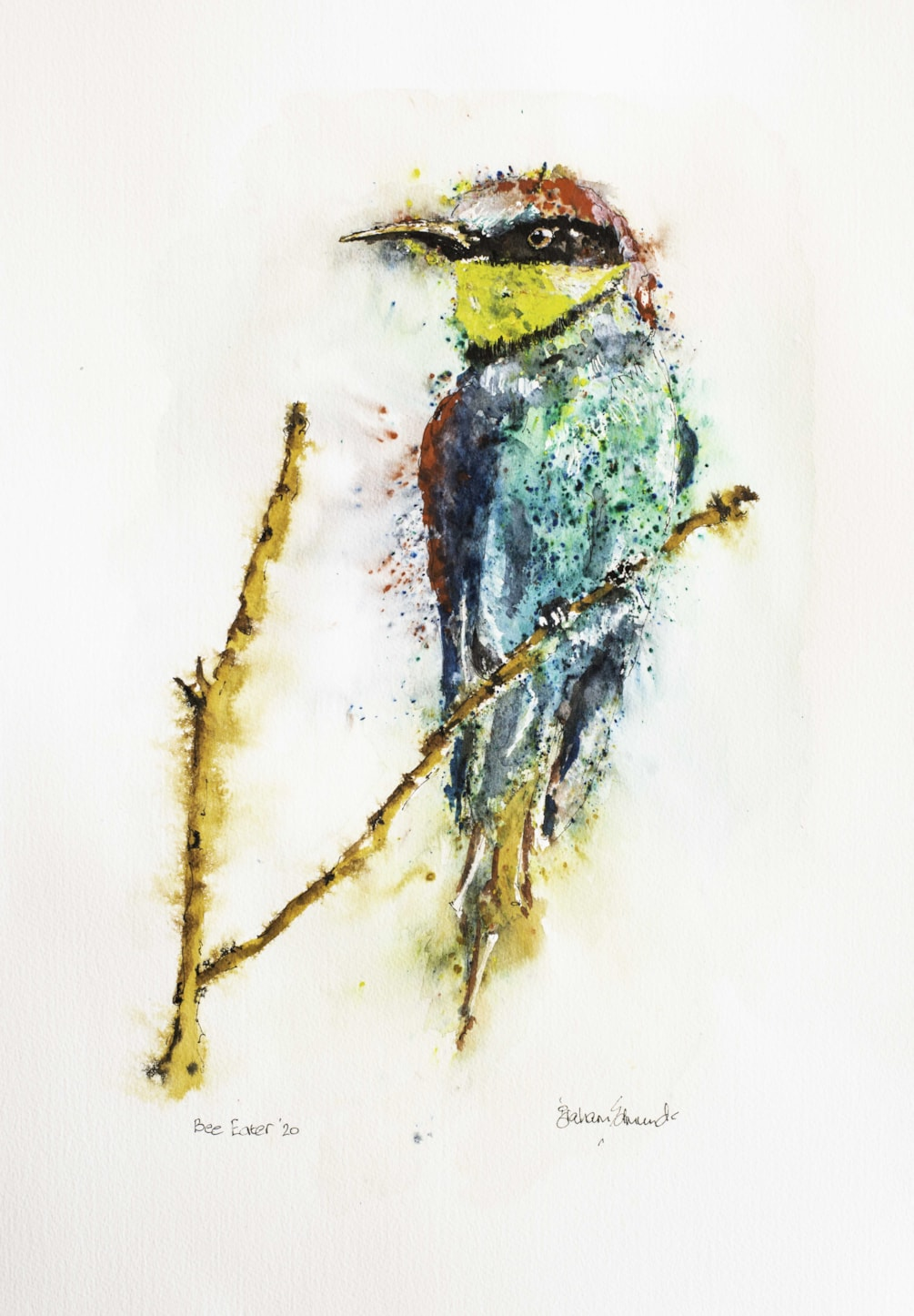 Bee Eater '20 Signed-20 - Copy
