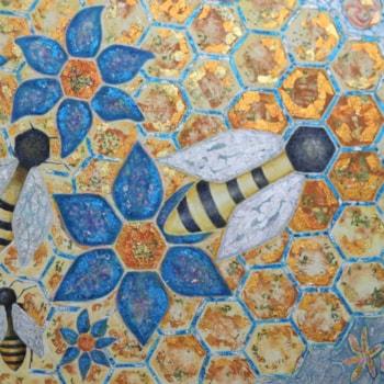 Bee art 1