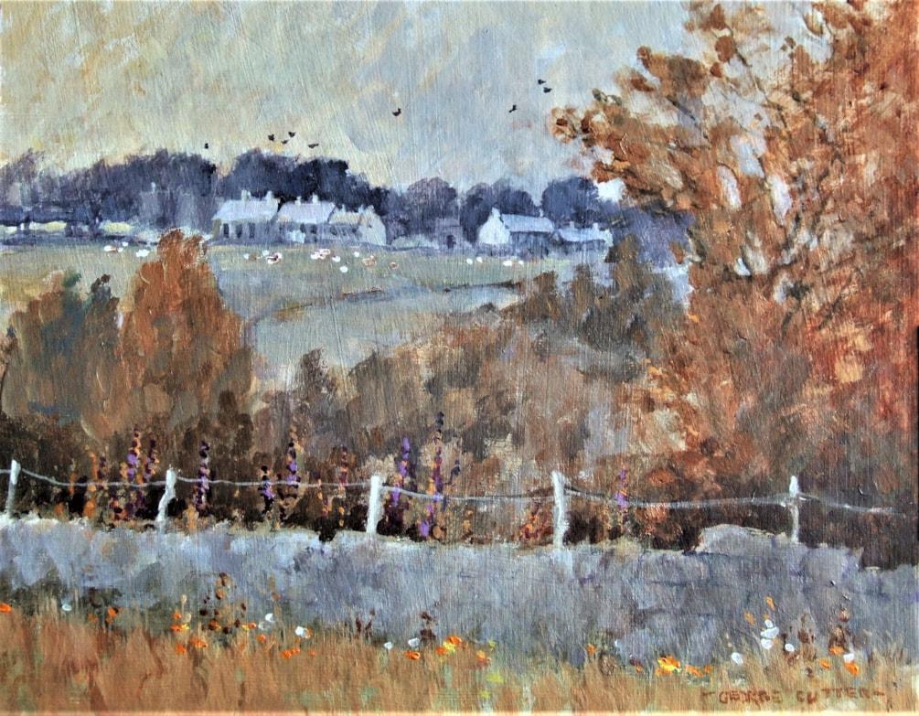 Belstone village frrom Moor