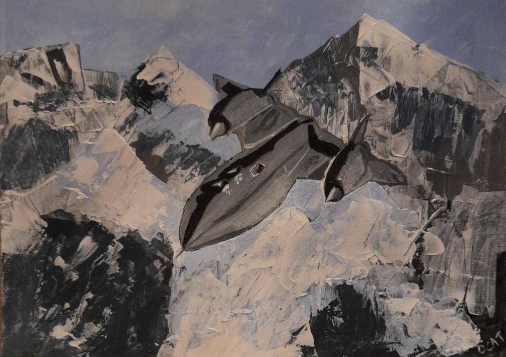 Blackbird. Altitude and Speed Record.