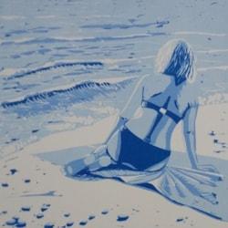 Blue Bather I