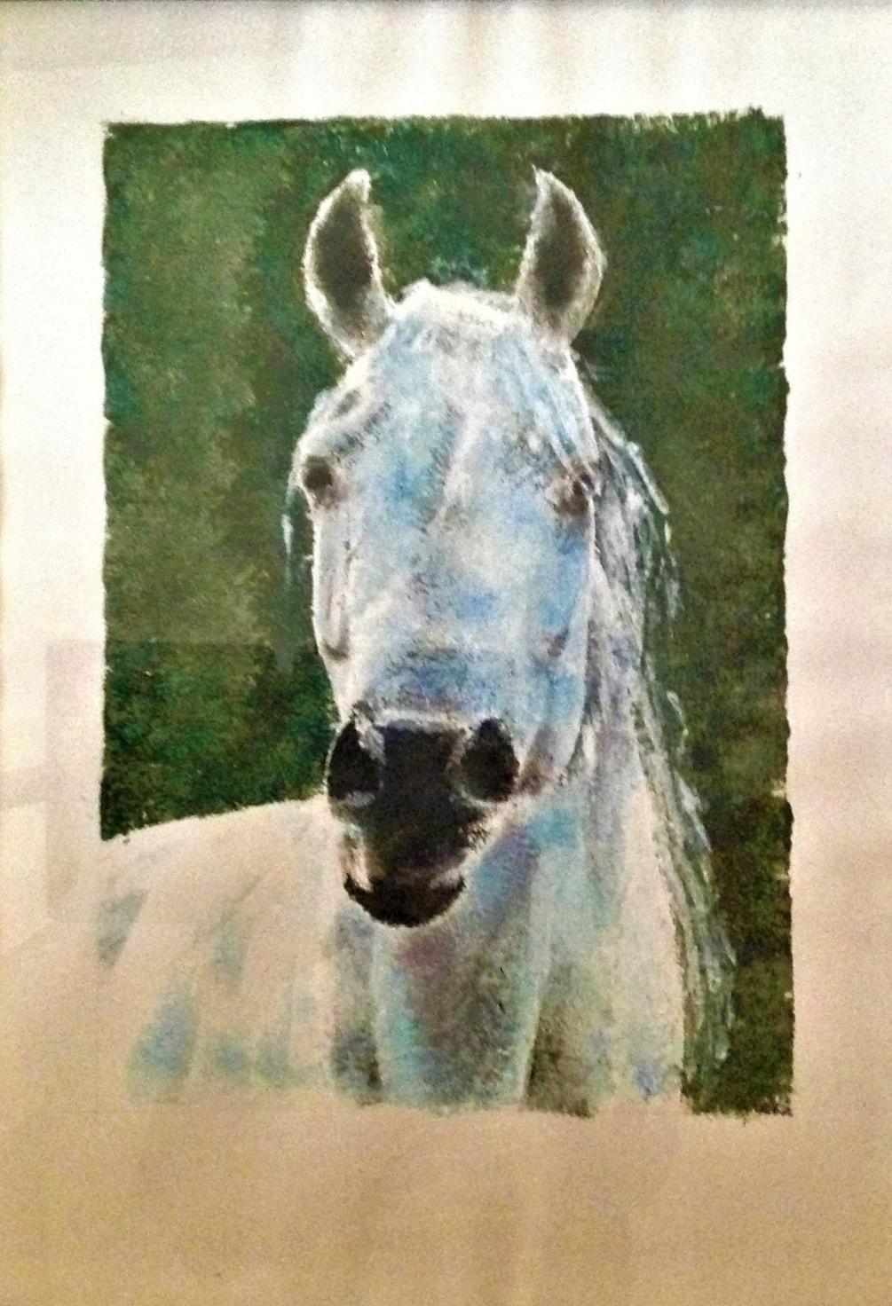 Blue Stallion 2013, 15x21, £190