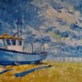 Blue boat 2