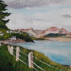 Borth-y-Gest Llyn Peninsula - Acrylic - June 25th 2020
