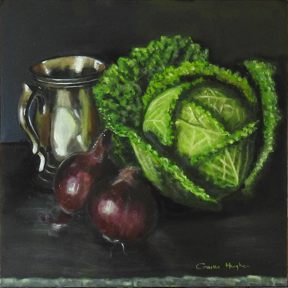 Cabbage and friends_ Collette Hughes_2020