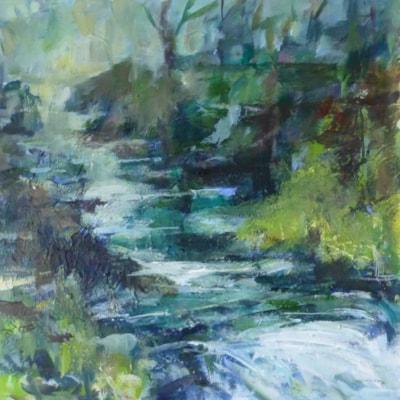 Calm downstream Golitha