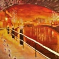 Camden Lock Christmas 16x12 £190 14 01 20