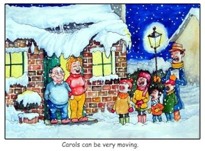Carols can be moving