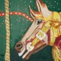 Carousel Horse-acrylic-12x24