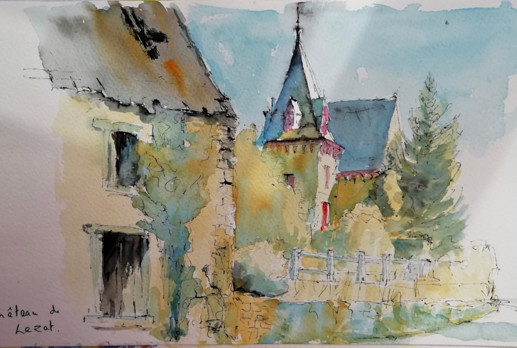 Chateau sketch