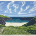 Cirrus over Isle of Lewis by Margaret Mallows