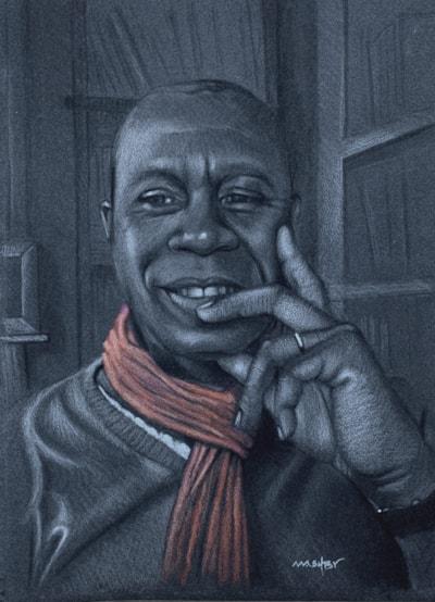 Clive Myrie portrait