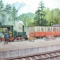 Cog railway Achenseebahn