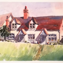 Cottage On The Hill, Finchingfield.