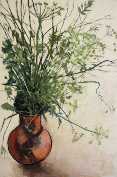 Cowparsley trimmed