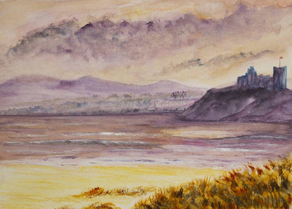 Cricieth Castle Sunset 72dpi