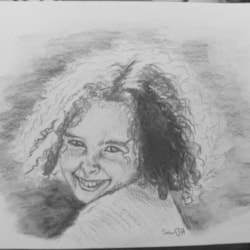 Curly-haired girl 2021-08-14