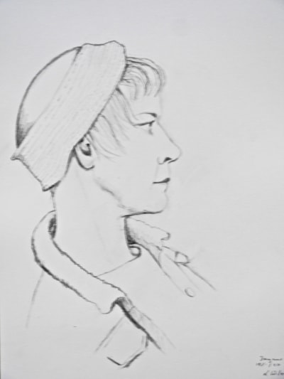 Dagmar Drawing