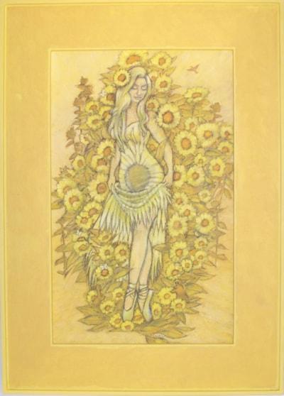 Dancer in Sunflowers