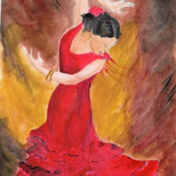 Dancing the Flamenco