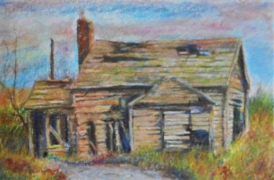 Delapidated shack