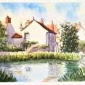 Duck Pond, Docking, Norfolk.