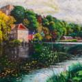 Durham riverside boathouse