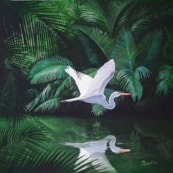 Egret small