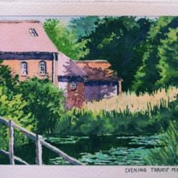 Evening Throop Mill 4