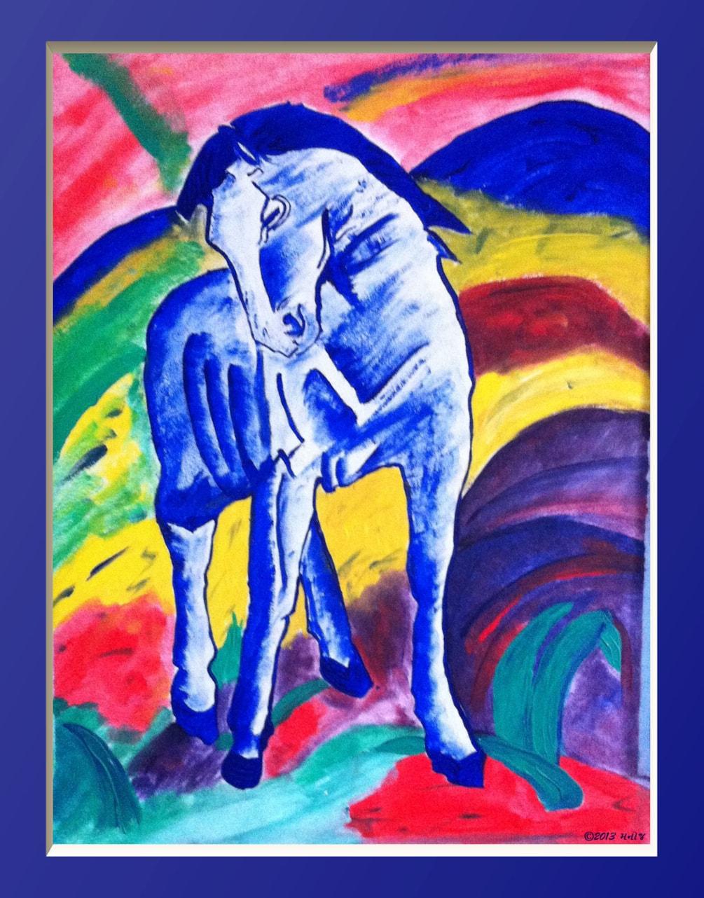 FB_Das Blaue Pferd_Inspired by_Franz Mark_MPATEL2013_1
