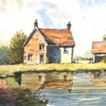 Farm Buildings and Their Reflections
