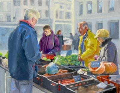 Farmer's market- selling vegetables RTP