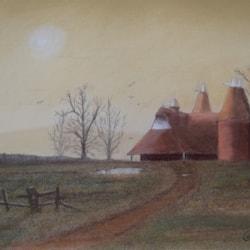 Farm in February