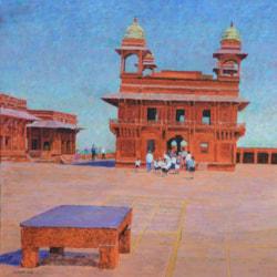 Fatehpur sikri, Rajasthan, 30cm sq
