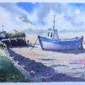 Fishing Boat, Brancaster Staithe.